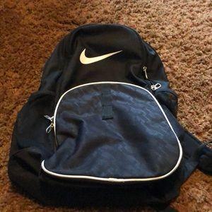 Black large Nike backpack